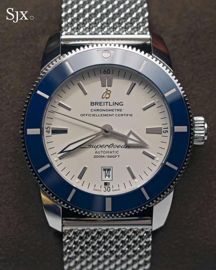 Hands-On with the Breitling Superocean Heritage II, Streamlined & Equipped with a Notable New Movement | Watches By SJX
