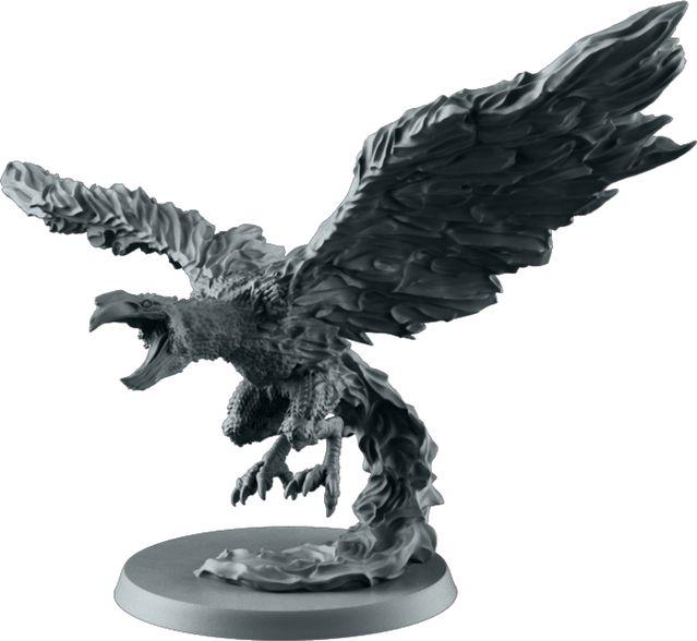 Phoenix. Sculpted by Arnaud Boudoiron