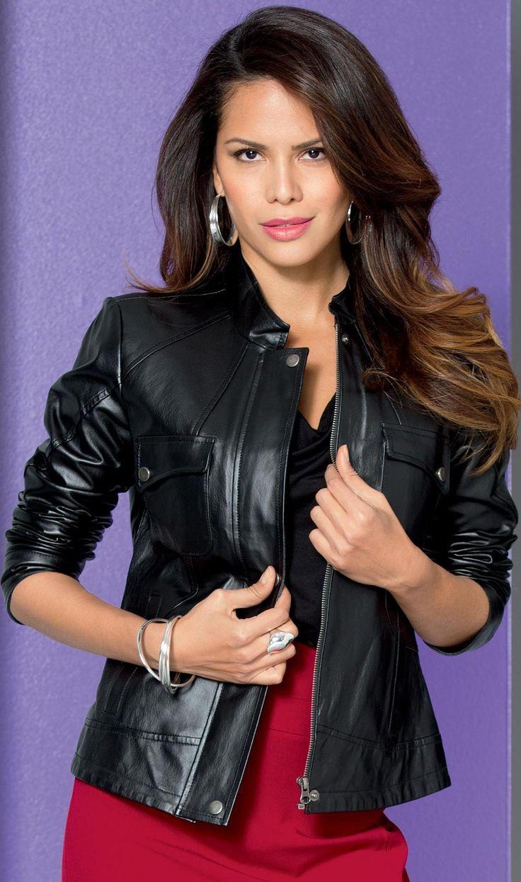 metrostyle leather jacket