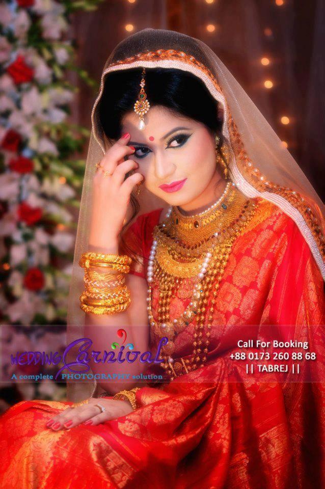 Bangladesh wedding #Bengali Bride looking simple and classy!!