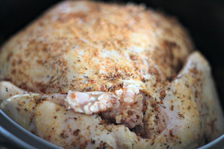 If you are looking for a Slow Cooker Rotisserie Chicken recipe that is tasty & easy to make then you found it. AND I show you how to save on your