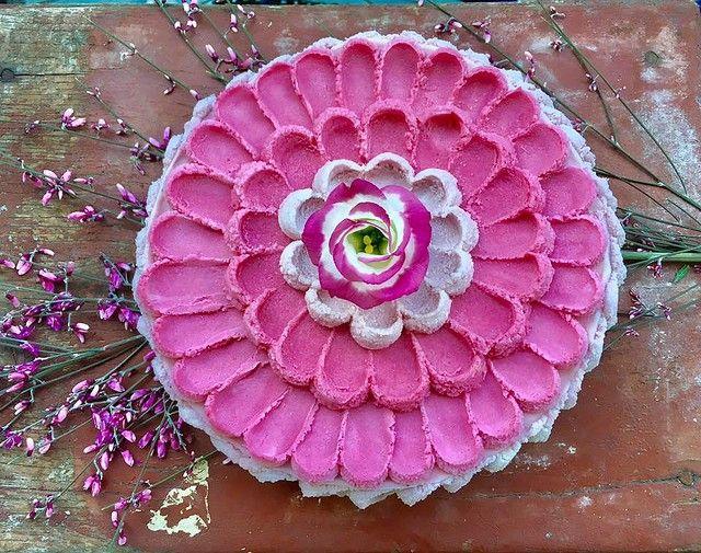 もはや芸術の域 ベジタリアンに嬉しいヘルシーな花束ケーキ - ライブドアニュース
