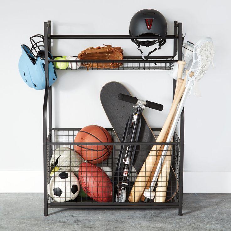Sports Storage 101 Sports equipment storage, Sports