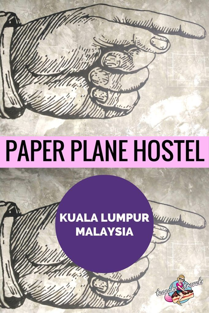 Looking for a arty, trendy, cosy and super cool Kuala Lumpur Hostel to stay in? Paper Plane Hostel might just be the one for you!