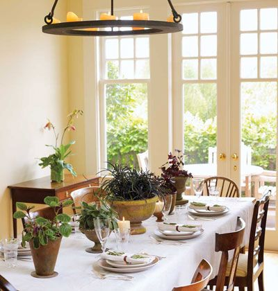Dining Room Ideas Casual Fall Table SettingsPlace