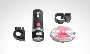 Groupon - Luz reflectiva para bicicleta delantera y trasera. Incluye envío. Precio Groupon: $39.900