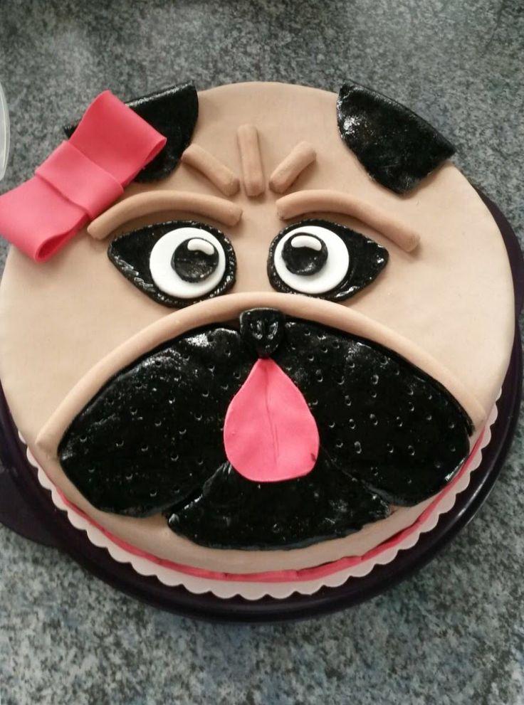 Mopstorte als Geburtstagstorte