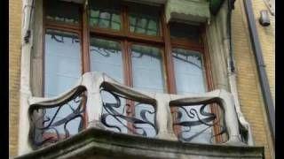 art nouveau arkitektur - YouTube