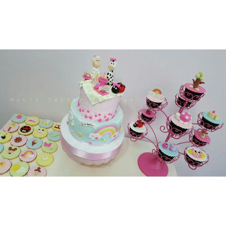 Piknik temalı doğum günü partisi #mutlutatlaratolyesi