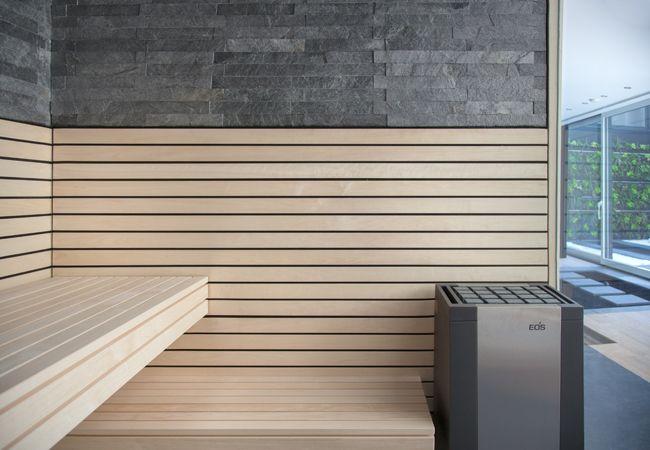 Design-Sauna | exklusive Sauna mit Glasfront | corso sauna manufaktur
