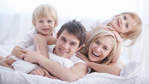 Famille recomposée et... heureuse