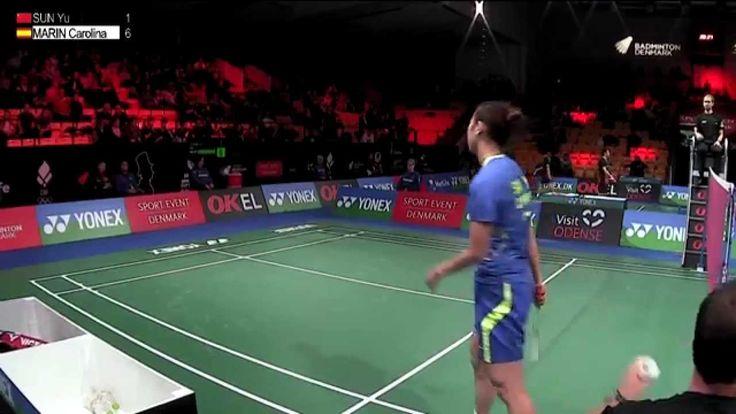 Day 2 - 2015 Yonex Denmark Open - Sun Yu vs Carolina Marin
