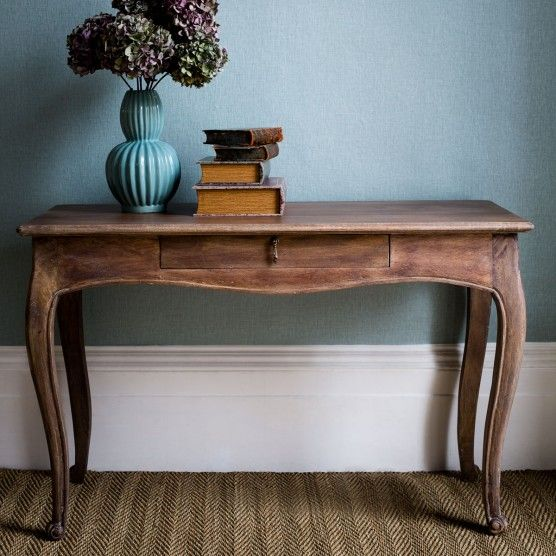 Marie Console Table - Natural Wood Finish Alison at home gbp375
