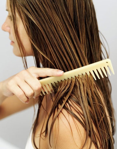 Use a wide-toothed comb to detangle wet #hair!