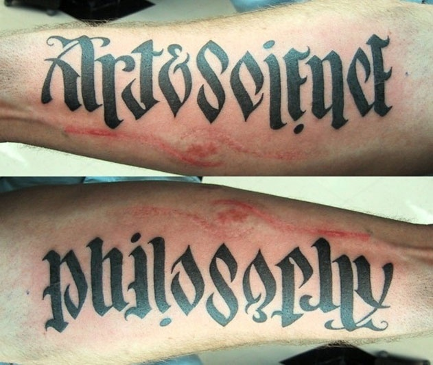 how to make an ambigram of your name