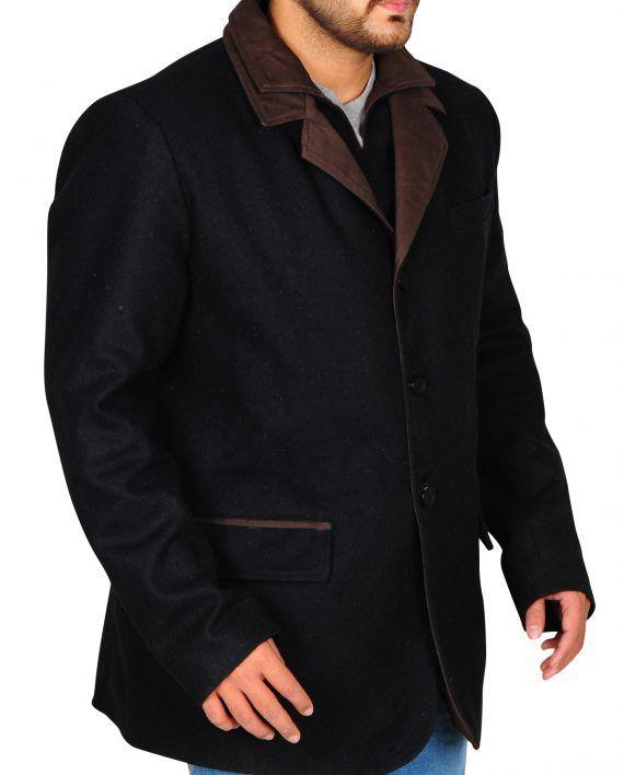 Blood & Oil TV Series Hap Briggs Elegant Black Coat