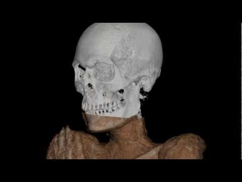 Egyptian mummy CT scan video   Smithsonian's National Museum of Natural History  #BeCurious