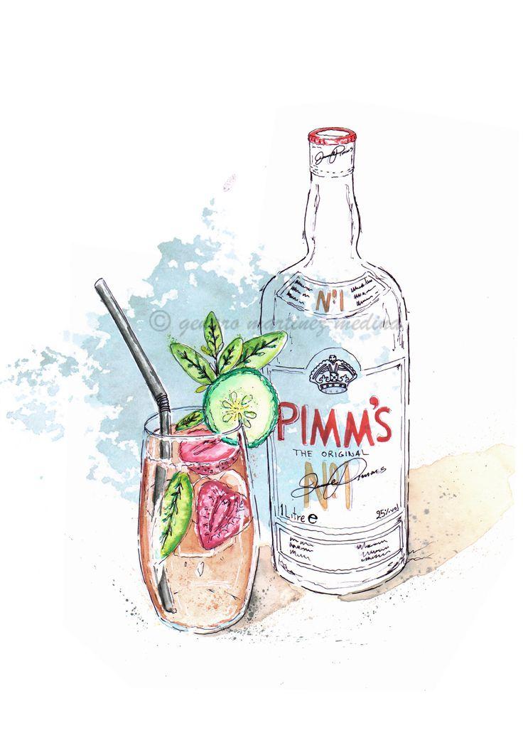 Pimms o'clock By Genaro Martinez Medina