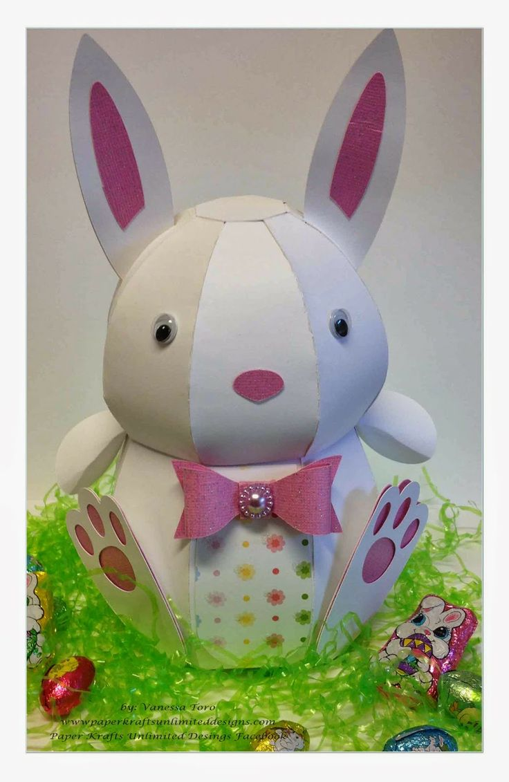 254 best spring and easter images on pinterest svg cuts cutting spring is here and so is this adorable 3d bunny ready for you to display good monday morningeaster gifteaster negle Images