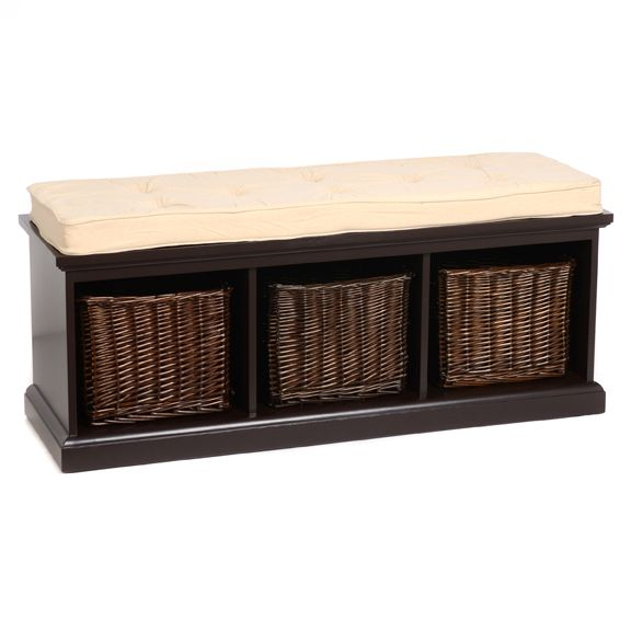 Front entry bench storage!!