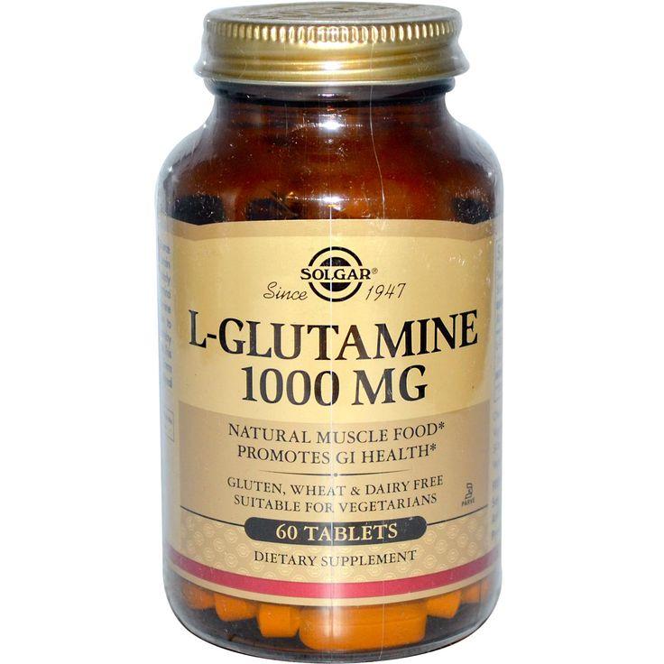 $10.71 60таб натуральная аминокислота, которая помимо разных полезностей, еще используется для лечения зависимостей — алкогольной и сахарной. При неудержимой тяги к сладкому надо принять 1-2 грамма l-глутамина, желательно с ложечкой жирных сливок, и нестерпимая страсть к сладкому проходит. При  диете с малой калорийностью глутамин выступает как доступный неуглеводный источник энергии, поэтому соблюдать диету с приемом глутамина не так сложно и грустно.