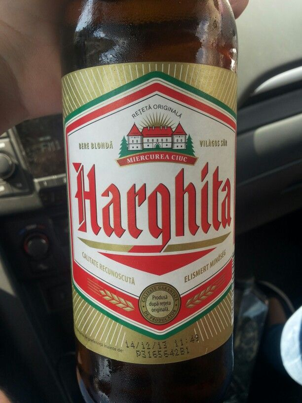 Harghita - Vilàgos Sör - Vol. 4.5% Alc.