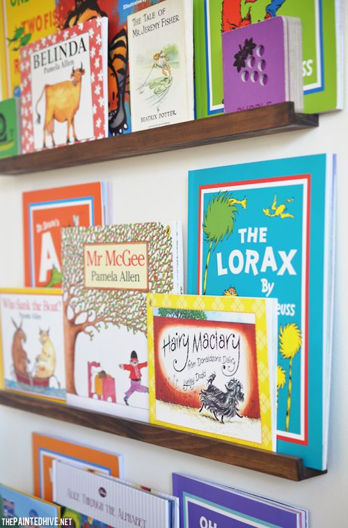 Tutorial for easy DIY narrow floating shelves to display books, photos or  artwork | The - Best 25+ How To Make Floating Shelves Ideas On Pinterest