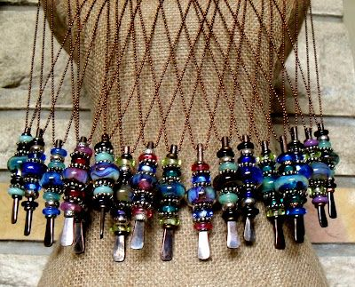 Nice site! artist writes: Eclectic handmade jewelry often from recycled and unusual items with some personal rambling thrown in. If you see something you would like to purchase on this blog please contact me @ Beadbug at usa dot com