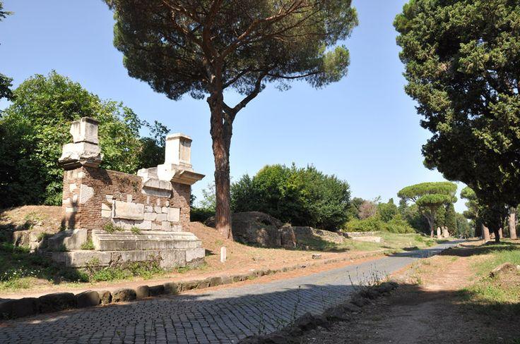 Roma, via Appia Antica. Foto de Jaime Ramos Ayora