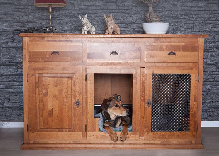 Exklusive Hundeboxen aus Holz