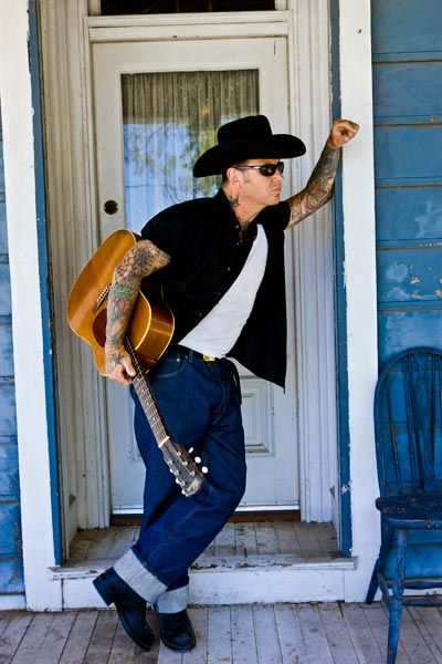 Mike Ness - My first love-love this look w the cowboy hat.