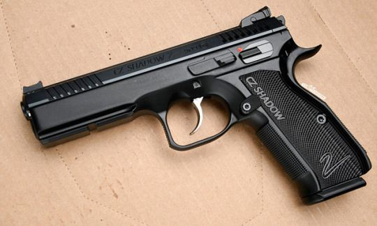 CZ 75 Shadow 2 - 9x19mm Speed up and simplify the pistol loading process  with the RAE Industries Magazine Loader. http://www.amazon.com/shops/raeind