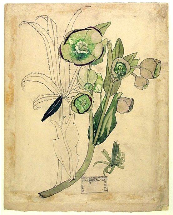 By Charles Rennie Mackintosh