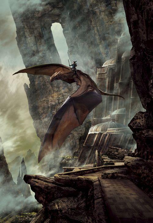 Stephan Martinière - Cover art for Dragondrums: A Harper Hall of Pern Novel by Anne McCaffrey, 2015
