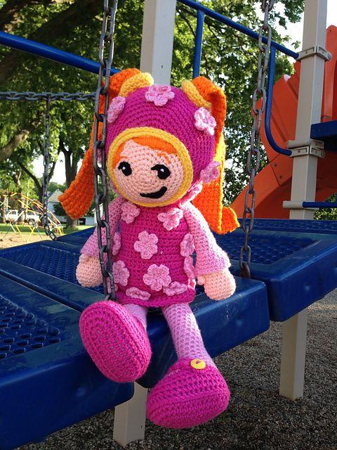 Free Crochet Pattern Umizoomi : Team UmiZoomis Milli pattern by Amanda Kammrad Pattern ...