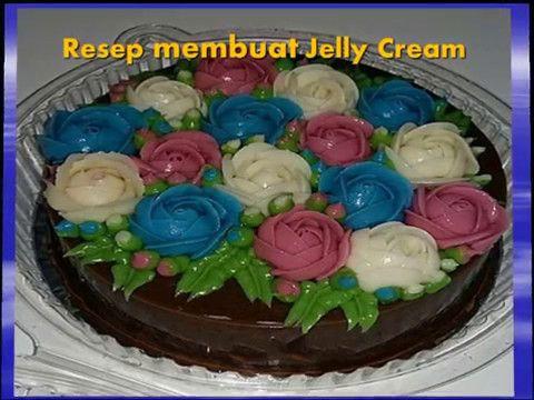 Resep membuat Jelly cream