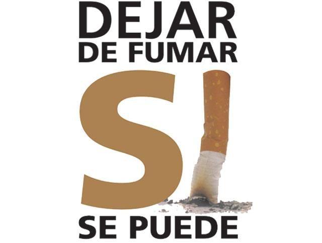 ¡No al cigarrillo!