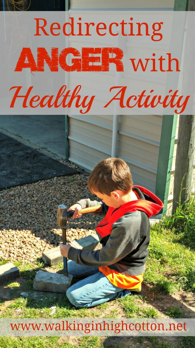 Redirecting Anger with Healthy Activity in childre…