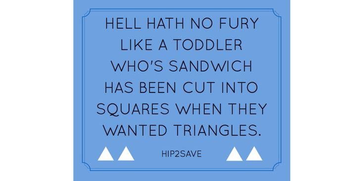 """Sandwiches are a fun way to introduce geometry to kids. A toddler's first """"math manipulative."""""""