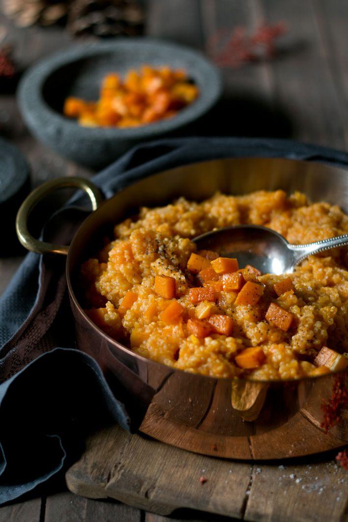 Quinoa pumpkin risotto