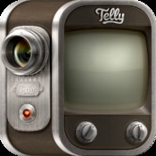 Telly  By Telly, Inc    Telly is a simple and fun way to create and discover amazing videos. Create and share beautiful videos with custom lenses and background music. Discover and watch videos from your friends, well-known creative people from around the world, as well as today's most popular videos from across the web.
