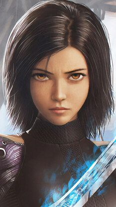 Alita Battle Angel, Sword, 4K, HD Mobile and Desktop wallpaper (3840×2160, 1920x…