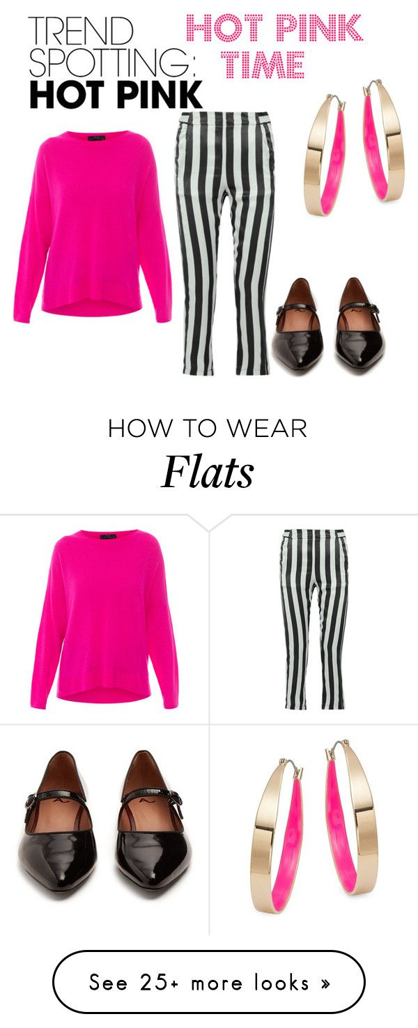 """""""HOT PINK"""" by rosyflowers on Polyvore featuring Ann Demeulemeester, MARC CAIN, AlexaChung, Design Lab, contestentry and NYFWHotPink"""