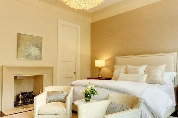 40 bedroom paint ideas....AD-White-And-Gold-Bedroom-Color-26