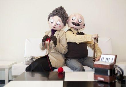 Kuvassa herra ja rouva Eloisa. Senioriverkko on yksi Eloisa ikä -ohjelman hankkeista.