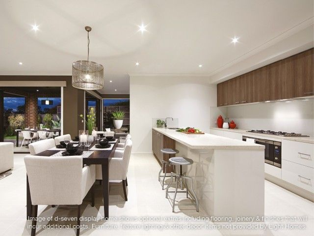 Kitchen in d seven   Eight Homes display home  Point Cook  affordable  builder Melbourne. 7 best Eight Homes Display Homes images on Pinterest   Home design