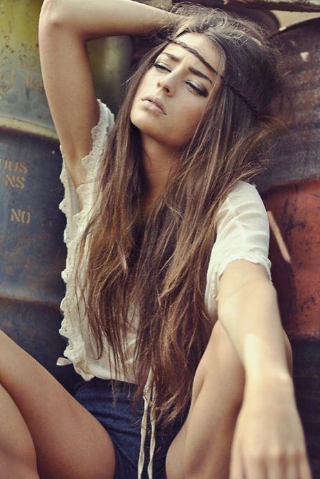 Hippie hairstyles! BEAUTY Pinterest