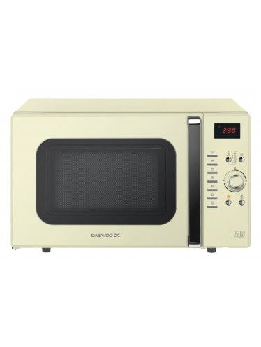 Daewoo Microwave Oven 28 Litre Cream KOC9Q3TC - Microwaves - Cool kitchen Appliances at kitchware online Homeware Boutique store