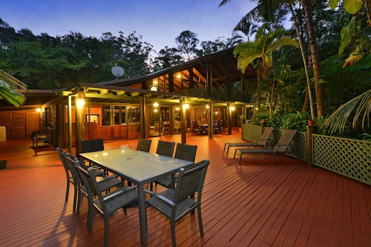 House in Cow Bay, Australia. Stay in one of the most beautiful houses along the Daintree Coast. Wait-a-While Retreat is an ideal place to relax and enjoy the Daintree Rainforest, or to explore the wonders of the Great Barrier Reef.    Stay in one of the most beautiful houses ...