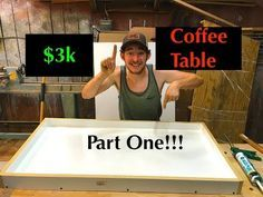 DIY: How To Make a Resin and Wood Slab Coffee Tabl…